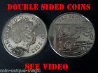 PRO DOUBLE SIDED 10P COIN - HEADS OR TAILS - HEADED OR TAILED