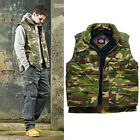 MENS DICKIES GILETS & BODYWARMERS OUTLAND COMBAT CARGO CAMOUGLAGE NEW BW11400