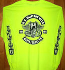 1961 - 1975 Vietnam Vets Long Sleeve T Shirt Sz SM - 5XL Safety Green & More