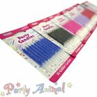 Culpitt - 10 pack- Coloured Glitter Party Birthday Candles cake cupcake candle