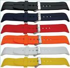 Superb Polyurethane Watch Strap band with Curved Ends