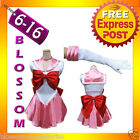 G31 Sailor Moon Pink Chibiusa Costume Cosplay Uniform Fancy Dress Outfit +Gloves