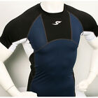 New Limited baselayer 165 COMPRESSION skin tights top S~2XL sports shirt Navy