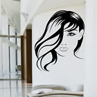 SALON BEAUTY Wall Sticker Parlour Hairdressing LADY ARTISTIC HAIR Art mural