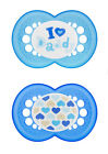 MAM Love&Affection Pacifiers 6 + m, 2-pk BPA FREE