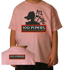 T-SHIRT BAMBINO 100 PIPERS 1 Whisky by SamyShop