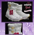 GIRLS Snow Boots ADAMS SIZE 7 INFANT KIDS 2 CHILDRENS WINTER BOOTS MOON BOOTS