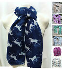 Horse Scarf - Lovely Lively Fashionable Large Soft and Gorgeous !!