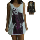 Heath Ledger The Joker Vest Tank-Top Singlet Dress T-Shirt Mens Womens Ladies
