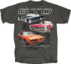 1964, 1965, 1966, 1967, 1968, 1969 Pontaic GTO Judge T-shirt -  First Muscle Car