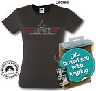 Ladies Top Gun T.shirt & Keyring Set Size Small Great Gift For Her Official Item