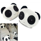 Panda Car Seat Plush Head Rest Cover Neck Support Cushion Pillow Support Cute
