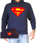 FELPA UNISEX CON CAPPUCCIO SUPERMAN 1 by SamyShop