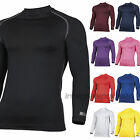 RHINO Base Layer Tops - New Sport Compression Long Sleeve Undershirts, All Sizes