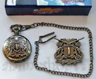 Katekyo Hitman Reborn Vongola Famiglia Pocket Watch Anime Cosplay Free Shipping