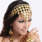 New Belly Dance Dancing Bollywood Headband Headpiece Jewellery Party Accessories