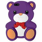 Brand New Cute 3D Teddy Bear Ted Case Cover Back for fits Apple iPhone 5