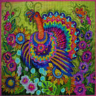 "Needlepoint canvas ""Thanksgiving day Tuskey"""
