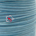 "3mm 1/8"" Sky Velvet Ribbons Craft Sewing Trimming Scrapbooking #171"