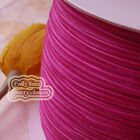 "3mm 1/8"" Magenta Velvet Ribbons Craft Sewing Trimming Scrapbooking #40"