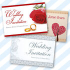Personalised Wedding Stationery Invitations, Place Cards, Save The Date, RSVP