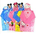Disney Mickey/Minnie Mouse/Hellow Kitty Boy/Girl PVC Raincoat (Idea for Gift)