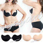 New Sexy Magic Bust Self-Adhesive Front Closure Strapless Push Up Invisible Bra