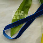 Navy Velvet Ribbons Trim Sewing Scrapbook 6mm,10mm,12mm,15mm,18mm,24mm,38mm