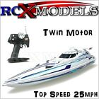 Fast RC Racing Speed Boat Radio Remote Control Electric 25mph RTR 3ft High Speed