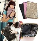 Ladies Evening Bag Dazzling Glitter Sequins Handbag Party Wallet Purse Clutch