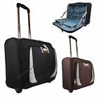 Wheeled Pilot Executive Business Laptop Trolley Bag Work Briefcase Carry Case