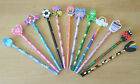 Pencils With Novelty Eraser Party Loot Bag Stocking Filler 4 - 6 - 8 Quantities