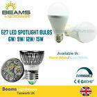 Cree E27 LED DIMMABLE 3W 6W 9W 12W Globe Spotlight WARM COOL WHITE LIGHT BULB