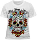 FOUR YEAR STRONG Skull White  T Shirt   S M L XL OFFICIAL
