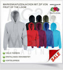 Fruit of the Loom Kapuzenjacke Sweatjacke Hooded Sweat Jacket Pulli SALE