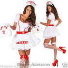 J58 Ladies Nurse Uniform Doctor Medical Fancy Dress Up Hens Party Costume Outfit