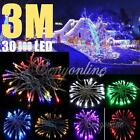 3M 30 LED 7 Colors String Fairy Light Wedding Christmas Xmas Party Home Garden