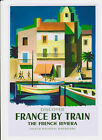 FRANCE BY TRAIN REPRODUCTION TRAVEL POSTER  3 SIZES  A3 A2 A1