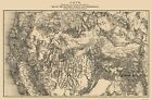 Old Mining Map - Western Mining District Colorado - 1870 ...