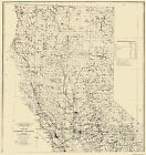 Old Mine - NORTHERN CALIFORNIA PLACER MINING AREAS  MAP 1932
