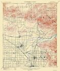 Topographical Map Print - Anaheim California - USGS 1901 - 17 x 20.13