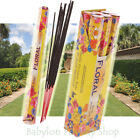 "60 Garden Incense Sticks - Large 12"" (30cm) 3hr Long Burn Outdoor Pack 16 Scents"