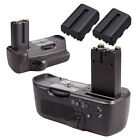BLACK BATTERY GRIP FOR SONY A900 A850 Camera + 2X NP-FM500H 2100mAh AS VG-C90AM