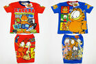 Garfield Boy Kid Outfit Set T-Shirt+Shorts Size 1-3 age 1-3 Red,Blue