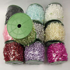 1.5 Metres Mix Size Pearl Garland Reel.  For Droplets Wedding Chain String