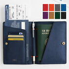 invite.L Passport Case Cover Holder Travel Wallet_Pen Holder/Credit Card/Money