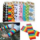 Baby Toddler Infant Boy Girl Long Cotton Legging Tights Arm Leg Warmer Cute Sock
