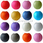 Round Paper Lantern Wedding Birthday Xmas Baby Shower Party Decor Paper Ball