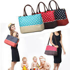 Fashion new Baby Diaper Nappy changing Bag Tote  shoulder storage Mummy handbag
