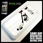 Cover for HTC One M7 Ice Hockey Puck Stick Blades Jersey Helmet Case !8011